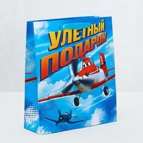 Пакет ламинат с открыткой-игрой 'Улетный подарок', Самолеты Ош