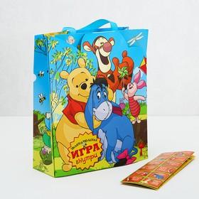 Пакет ламинат с открыткой-игрой 'Веселая игра', Медвежонок Винни Ош