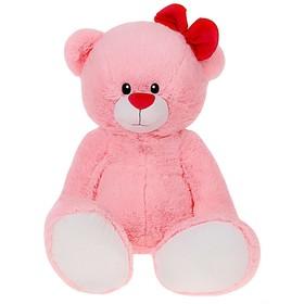 Мягкая игрушка «Мишка Лапа», цвет розовый, 103 см Ош
