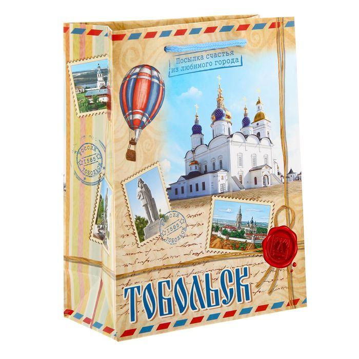 Пакет подарочный МS Тобольск