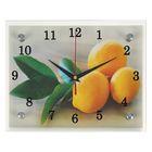"""Часы настенные, серия: Кухня, """"Лимонный аромат"""", 20х25  см, микс"""