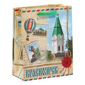 Пакет подарочный S «Красноярск» Ош