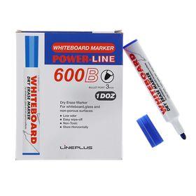 Маркер для доски 3.0 мм Line Plus 600B синий
