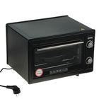 Духовка электрическая Akel AF-720, 36 л, 1300 Вт, таймер, регулировка температуры, чёрная