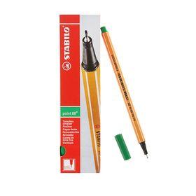Ручка капиллярная Stabilo point 88 0.4 мм чернила зеленые