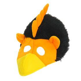 Карнавальная шляпа с маской на лицо 'Петушок', р-р 56-58 Ош