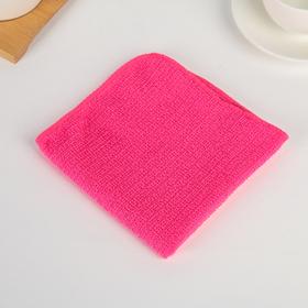 Салфетка для уборки Доляна «Страйпс», 30×30 см, 180 г/м2, цвет МИКС Ош