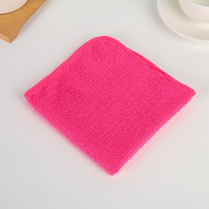 Салфетка для уборки Доляна Страйпс, 3030 см, 180 гм2, цвет МИКС