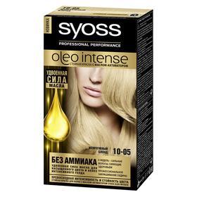 Краска для волос Syoss Oleo Intense, тон 10.05, жемчужный блонд