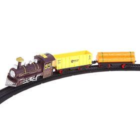 Железная дорога «Классический поезд», свет и звук, в пакете