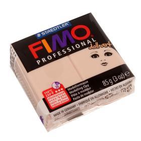 Пластика - полимерная глина для изготовления кукол FIMO doll art, 85 г, непрозрачный камея