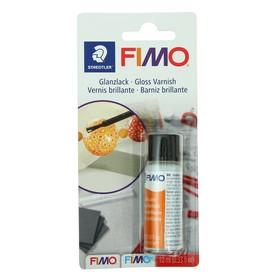 Лак для полимерной глины акриловый глянцевый FIMO, на водной основе, 10 мл Ош