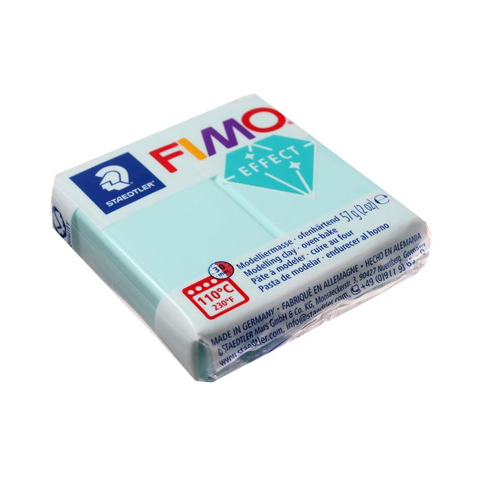 Пластика - полимерная глина FIMO effect, 57 г, мята
