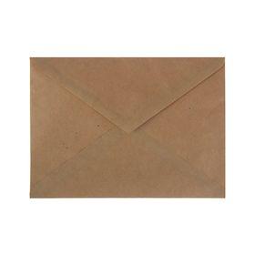Конверт почтовый крафт С5, 162х229 мм, треугольный клапан, клей, 80 г/м2, в упаковке 1000 штук
