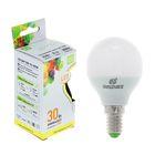 Лампа светодиодная ASD LED-ШАР-standard, Е14, 3.5 Вт, 230 В, 3000 К, 320 Лм