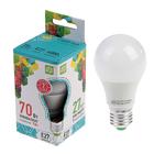 Лампа светодиодная ASD LED-A60-standard, Е27, 7 Вт, 230 В, 4000 К, 630 Лм