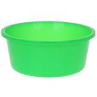 Таз круглый «Кливия», 20 л, цвет зелёный