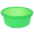 """Таз 4,5 л """"Космея"""", цвет зеленый"""