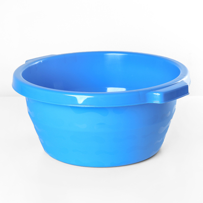 Таз круглый ТД Ангора, 14 л, цвет голубой