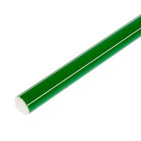 Палка гимнастическая 70 см, цвет зелёный Ош