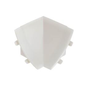 Внутренний угол к плинтусу для столешницы 'Идеал' Светло-серый Ош