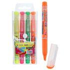 Набор маркеров-текстовыделителей, 4 цвета, 5 мм