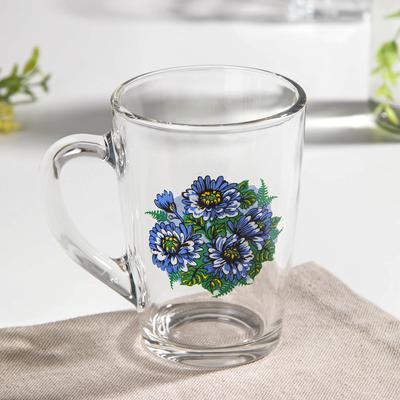 Кружка «Синяя хризантема», 300 мл, в подарочной упаковке - Фото 1