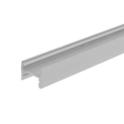 Профиль ЛПС-12 алюминиевый анодированный 16*12*2000 серебро - Фото 1