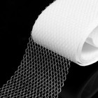Паутинка-сеточка клеевая на бумаге, 40 мм, 3 м, цвет белый