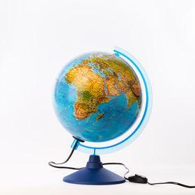 Глoбус ландшафтный «Классик Евро», диаметр 250 мм, с подсветкой Ош