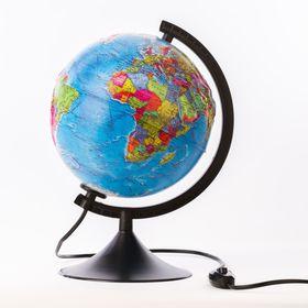 Глoбус политический рельефный «Классик», диаметр 210 мм, с подсветкой Ош