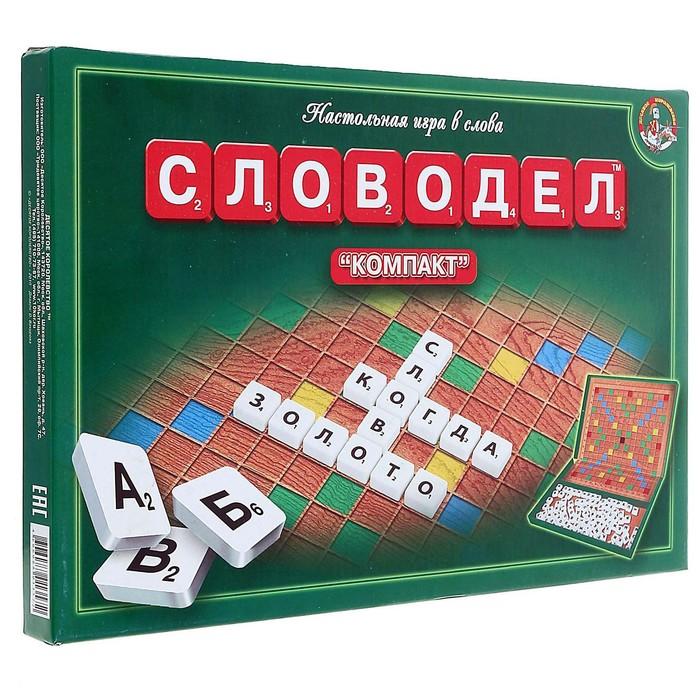 """Настольная игра """"Словодел. Компакт"""""""