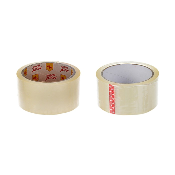 Клейкая лента Упаковочная 48 мм * 55 метров * 40 мкм