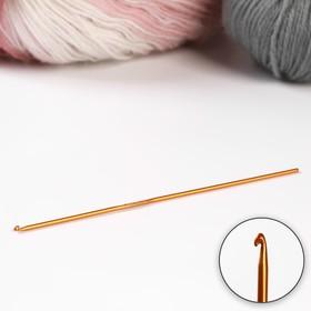 Крючок для вязания, d = 2 мм, 15 см, цвет МИКС Ош