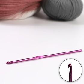 Крючок для вязания, d = 3,5 мм, 15 см, цвет МИКС Ош