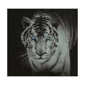 Картина на стекле 'Тигр'  50х50см Ош